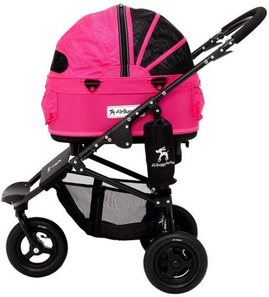 Afbeelding van de roze Dome2 hondenbuggy van Airbuggy
