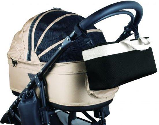 Afbeelding van de Airbuggy Dome 2 inclusief handtas in het beige