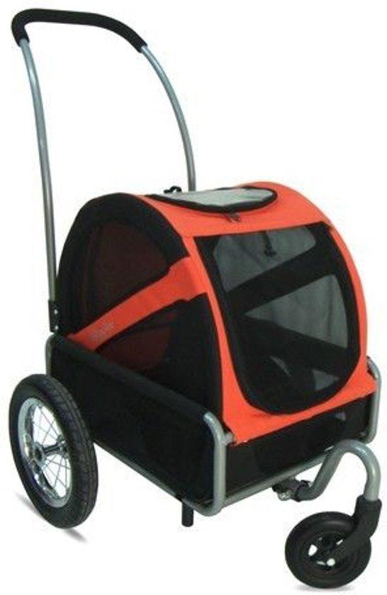 Afbeelding van de Doggyride buggy met oranje kleur