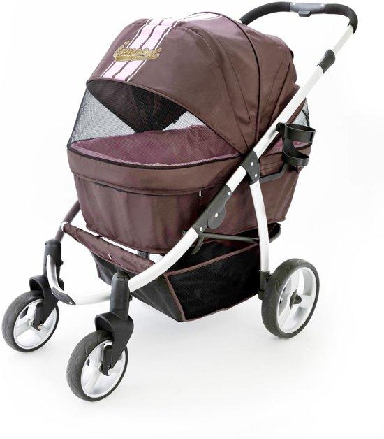 Afbeelding van de Innopet Retro met Bruin en Roze kleur