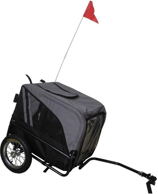 Afbeelding van de Keddoc Hondenfietskar, de goedkoopste hondenfietskar op de lijst