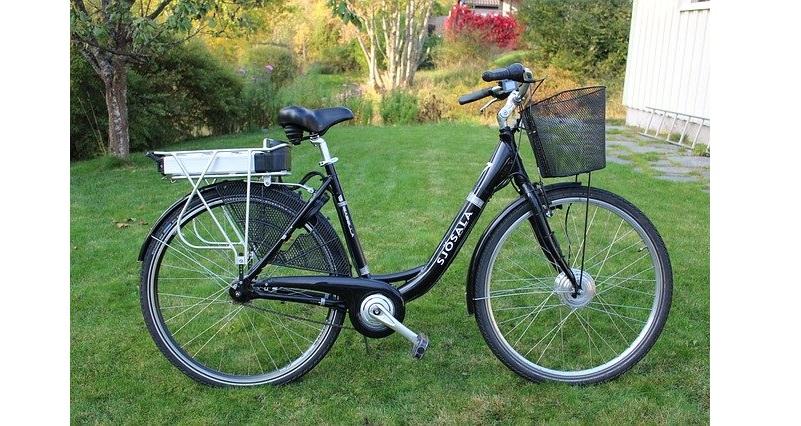 Afbeelding van een elektrische fiets