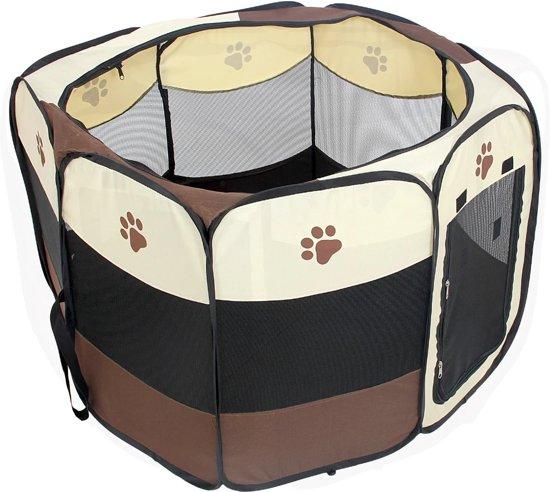 Afbeelding van open kleine hondenbench