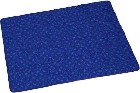 Afbeelding van de Beeztees Quick koelmat in het blauw