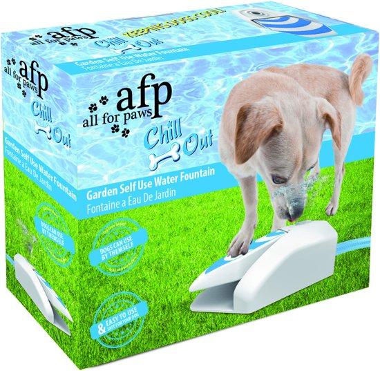 Afbeelding van een hondenfontein in verpakking