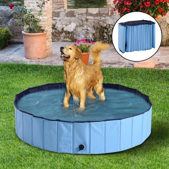 Afbeelding van het Playgoodz grote hondenzwembad