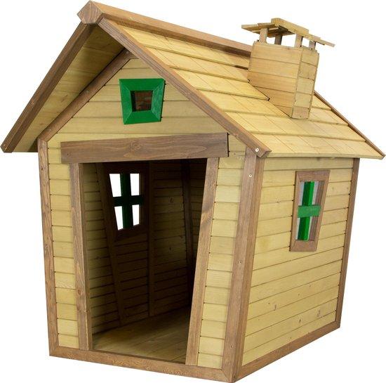 Afbeelding van het AXI houten hondenhok