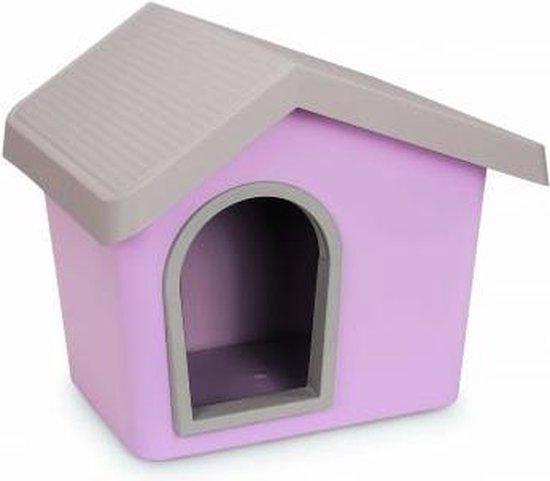 Afbeelding van het Imac Zeus hondenhok in het roze