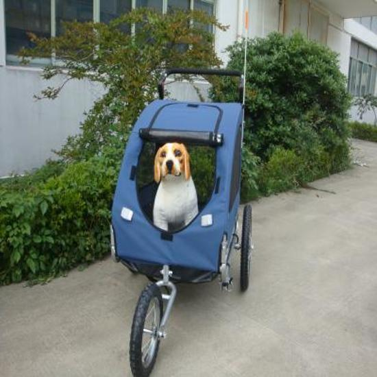 Afbeelding van Topmast hondenfietskar met joggerfunctie
