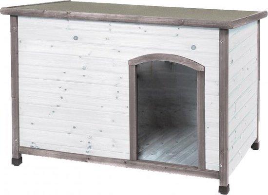 Afbeelding van het houten Woodland hondenhok