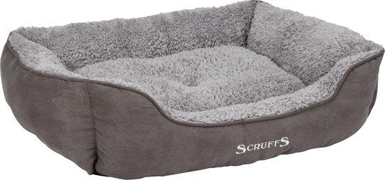 Afbeelding van de Scruffs Cosy Box Bed luxe hondenmand