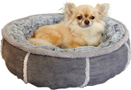 Afbeelding van kleine Rosewood Donut hondenmand