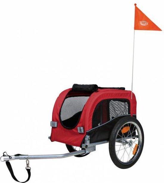 Afbeelding van de Trixie Hondenfietskar voor achter de elektrische fiets