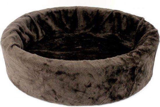 Afbeelding van de Petcomfort ronde hondenmand, kleur bruin
