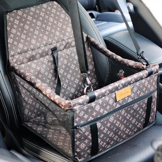 Afbeelding van de Luxe hondenmand voor in de auto