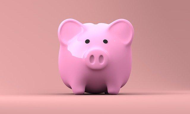 Afbeelding van een roze spaarvarken