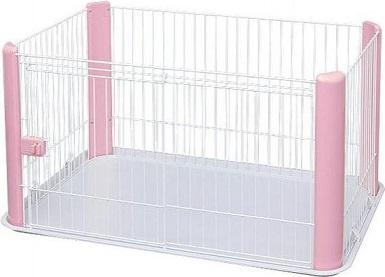 Afbeelding van een roze en witte puppyren
