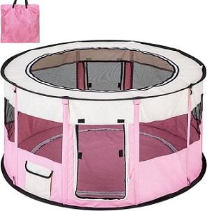 Afbeelding van de TecTake Corola roze