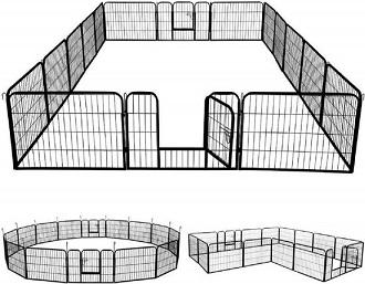 Afbeelding van de Maxxpet puppyren in 3 vormen: rond, vierkant, en L-vorm