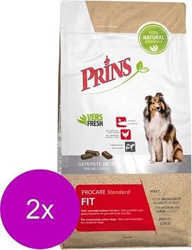Afbeelding van Een Prins procare hondenvoer pak met x2 sticker