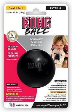 Afbeelding van de Kong onverwoestbare hondenspeelgoed bal