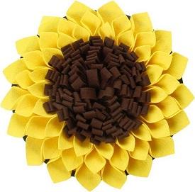 Afbeelding van de Zonnebloem snuffelmat voor pups