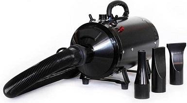 Afbeelding van de Buxibo waterblazer met drie kopstukken